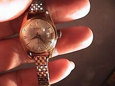 tugaris watch incabloc 25 jewels for parts or repair womens 10k gold filled