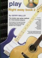 PLAY RIGHT AWAY INSTRUCTIONAL BOOK & CD FOR GUITAR VOL 2
