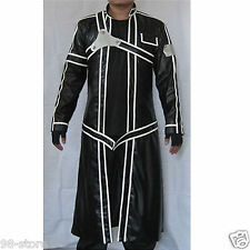 Sword Art Online Aincrad Kirito Anime Cosplay Costume