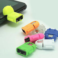 New Robot Micro Port USB To OTG Câble Adaptateur Pour Samsung Galaxy S3/4 Note2