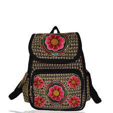 Genuine embroidered vintage tribal BOHO backpack handbag office bag