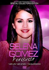 NEW DVD // SELENA GOMEZ // FOREVER //  SPECIAL COLLECTOR'S  EDTION //