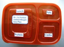 Portion Control Meal Tray for rapid Weight Loss, Diet Plan included