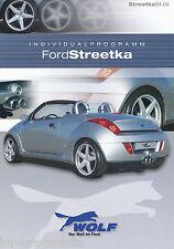 Prospekt Streetka Wolf Individualprogramm 4/04 D GB brochure accessories 2004