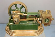 STUART TURNER  LIVE STEAM  MODEL OF A  SMALL MILL ENGINE & PLINTH