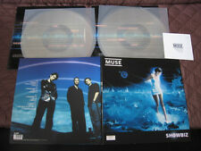 Muse Showbiz UK Original Limited Numbered Double Clear Vinyl LP Set