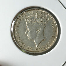 Straits Settlements KGVl  1939 20 cents Silver  coin   ori/ lustre  !!