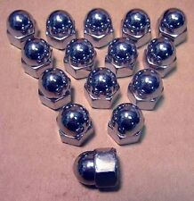 Bucket o' Chrome 10MM Acorn Nuts Harley Chopper Custom