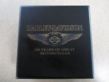 "Harley Davidson 2013 ""H-D 110th Anniversary Boxed Medallion"