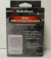 (BRAND NEW!) RadioShack Mini Audio Amplifier/Speaker #2771008 (277-1008) for HAM