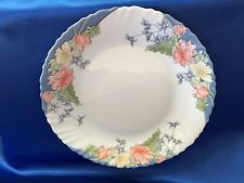 ARCOPAL FLORINE FLORAL FRANCE SCALLOPED RIM SALAD PLATE 7.5""