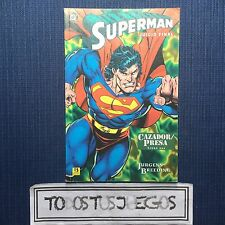 Dc Comics Superman Jucio Final Cazador Presa ESPAÑOL
