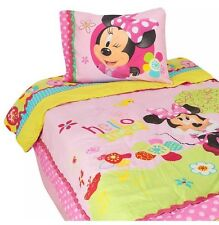 Minnie Mouse Bow-tique Twin Comforter Bedding Set