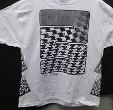 "M.C. Escher XL White T-Shirt ""Regular Division of the Plane""  Multiple Prints"