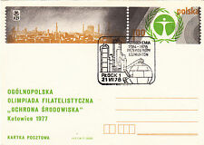 (36953) CLEARANCE Poland Postal Stationery Petrochemicals 1978
