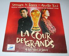 Axelle Red et Youssou N'Dour - la cour des grands - cd single 2 titres 1998