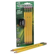 Ticonderoga My First #2 Pencils Kit with Sharpener 4 ea