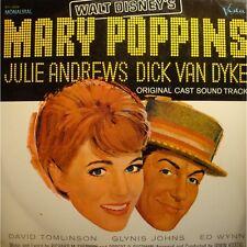 RICHARD SHERMAN/IRWIN KOSTAL Mary Poppins BO LP Buena Vista BV-4026 VG++
