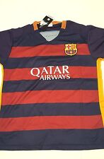 FCB Barcelona Qatar Airways t-shirts set FCB Sports with Logo  M