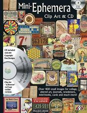 Mini-Ephemera Clip Art & CD: Over 400 Small Images for Collage, Altere-ExLibrary