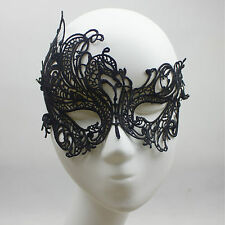 Women Sexy Phoenix Lace Mask for Masquerade Party Lace Eyes Mask Prom Decor