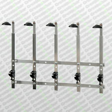 5 Bracket Wall Mounted Optic Rack - Pub / Bar Spirit Measure Bottle Rail