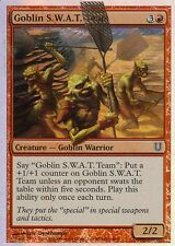 Goblin S.W.A.T. Team foil | nm | unhinged | Magic mtg