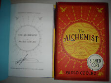 ***SIGNED 1st Printing*** THE ALCHEMIST Anniv Ed by Paulo Coelho (NEW HARDCOVER)