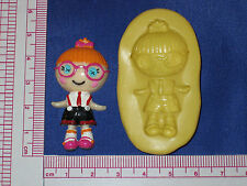LalaLoopsy Silicone Push Mold Resin Clay Candy Bookscraping A480