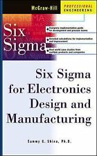 SIX SIGMA FOR ELECTRONICS DESIGN AND MANUFACTURING - NEW HARDCOVER BOOK