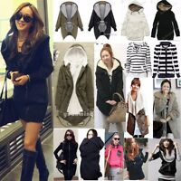 Winter Women Warm Hooded Long Parka Hoodies Dress Overcoat Coat Jacket Outwear