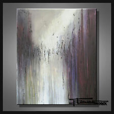 ABSTRACT PAINTING CANVAS WALL ART Large, Listed by Artist, Signed, US  ELOISExxx