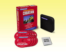 New 8 CD Pimsleur Learn Speak Conversational Croatian Language (16 Lessons)