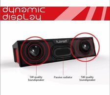 6W Potente Portatile Wireless Bluetooth altoparlante stereo, supporto allarme FM TF USB