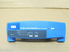 Cisco / Linksys - EFSP42 10/100 2 Port Print Server - Front Bezel