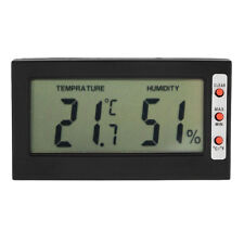 Digital LCD Thermometer Hygrometer Max Min Memory Celsius Fahrenheit LE