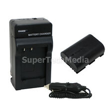 Decoded Battery+Charger Combo Kit for Canon LP-E6 EOS 7D 60D 5D Mark II USA Ship
