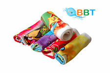 BBT 12 Pieces Pure Cotton Soft Towel Hanky for Girls & Women