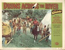Drums Across the River 11x14 Lobby Card #6