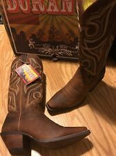 Durango Crush Distressed Cowgirl Western Brown Boots RD3514 Women's 7.5M