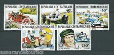REP CENTRAFRICAINE - 1981 YT 457 à 461 - TIMBRES NEUFS** LUXE