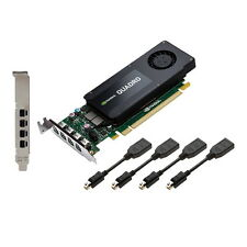 PNY VideoCard VCQK1200DP-PB Quadro K1200 4GB DDR5 4x mini DisplayPort to Display