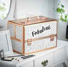 Make Up Storage Vanity Organiser Box Modern Cosmetic Case