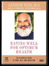 DR ANDREW WEIL Eating Well for Optimum Health DVD 2000 gudie to good food & diet
