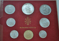 1973 Vatican City Paul VI (XI Year) Coin Set - Unc