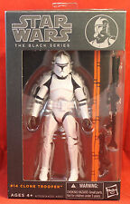 "Star Wars The Black Series 6"" #14 Clone Trooper 2014 Hasbro"