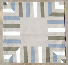 WEST ELM ~ MITERED STRIPE PILLOW COVER  ~ 6 AVAILABLE ~ FLAX