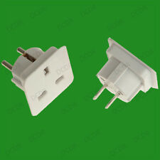 UK Worldwide Travel Adaptor Set, 3 Pin UK to Europe USA Australia & Asia Sockets