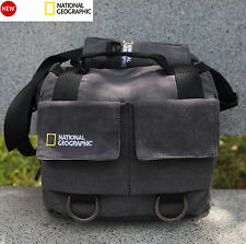 National Geographic Earth Explorer NG 2346 Midi Messenger Camera Carry Bag Grey