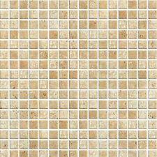 Brown Tile Effect Self Adhesive Vinyl Wallpaper Removable Contact Paper HWP-091